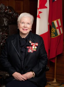 The Honourable Elizabeth Dowdeswell Lieutenant Governor of Ontario